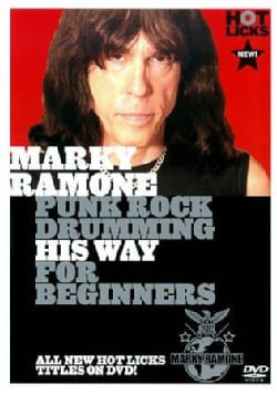 Marky Ramone: Punk Rock Drumming His Way for Beginners (DVD)