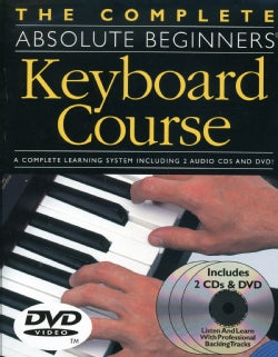 Complete Absolute Beginners Keyboard Course (DVD)