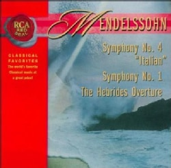 Felix Bartholdy Mendelssohn - RCA Red Seal: The Hebrides Overture