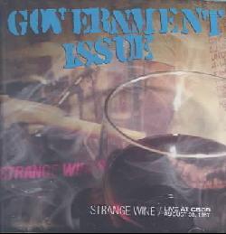 Government Issue - Strange Wine/Live at Cbgb's