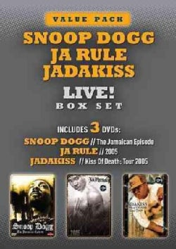 Live!: Snoop Dogg, Ja Rule, and Jadakiss (DVD)