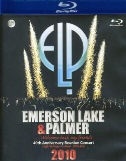 40th Anniversary Reunion Concert: Emerson Lake & Palmer (Blu-ray Disc)