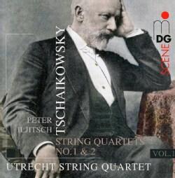 Pyotr Il'yich Tchaikovsky - Tchaikovsky: Complete String Quartets Vol 1