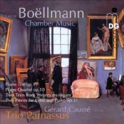 Leon Boellmann - Boellmann: Piano Trio Op. 19, Piano Quartet Op. 10