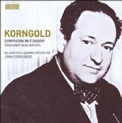 Erich Wolfgang Korngold - Korngold: Symphony in F Sharp; Tanzchen Im Alten Stil