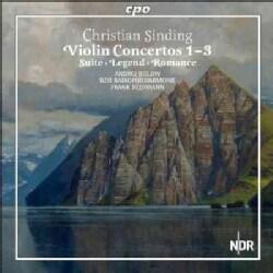 NDR Radiophilharmonie - Sinding: Violin Concertos 1-3