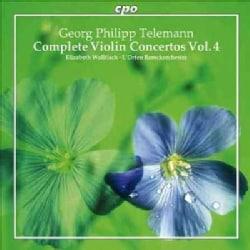 L'Orfeo Barockorchester - Telemann: Complete Violin Concertos, Vol. 4
