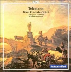 La Stagione Frankfurt - Telemann: Wind Concertos Vol 5