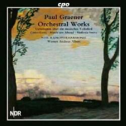 Paul Graener - Graener: Orchestral Works, Vol. 1