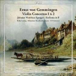 Ernst Von Gemmingen - Gemmingen: Violin Concertos 1 & 2