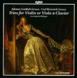 Johann Gottlieb Graun - Graun: Trios for Violin Or Viola & Clavier