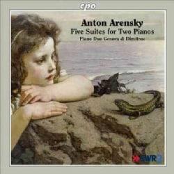 Piano Duo Genova & Dimitrov - Arensky: Five Suites for Two Pianos