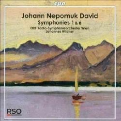 Johann Nepomuk David - David: Symphonies 1 & 6