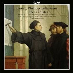 Susanne Krumbiegel - Telemann: Luther Cantatas