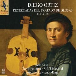 Diego Ortiz - Ortiz: Recercadas del Tratado de Glosas - Rome 1553