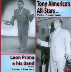 Leon & His Band Prima - Tony Almerico's All-Stars/Leon Prima & His Band