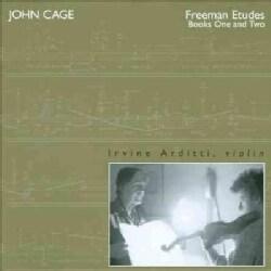 Irvine Arditti - Cage: Freeman Etudes: Books 1 and 2