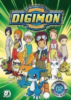 The Official Digimon Adventure Set: The Complete Second Season (DVD)