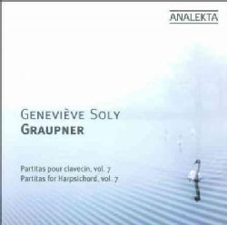 Christoph Graupner - Graupner: Partitas for Harpsichord Vol 7