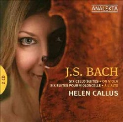 Helen Callus - Bach: Six Cello Suites Arranged for Viola
