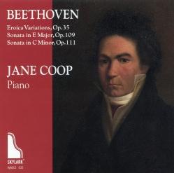 Jane Coop - Beethoven: Eroica Variations & Sonatas, Op. 109 & 111