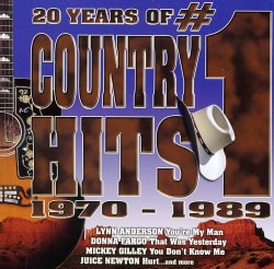 Various - 20 Years of #1 Country Hits 1970-1989