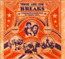 Various - These Are The Breaks: 12 Sampled Selections from The Ubiquity Vaults