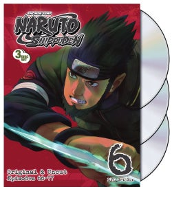 Naruto Shippuden Box Set 6 (DVD)
