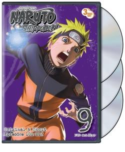 Naruto Shippuden Box Set 9 (DVD)
