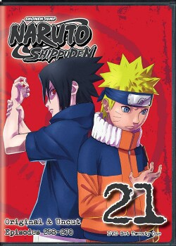 Naruto Shippuden Uncut Set 21 (DVD)