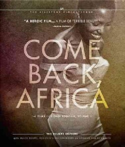 Come Back, Africa: The Films of Lionel Rogosin: Vol. 2 (Deluxe Edition) (Blu-ray Disc)