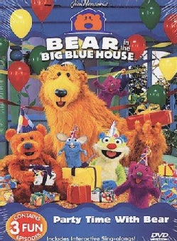 Bear In The Big Blue House: Party Time With Bear (DVD)