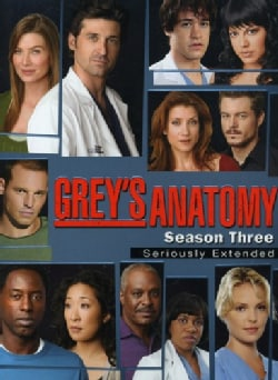 Grey's Anatomy: Season 3 (Seriously Extended) (DVD)