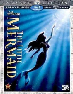 The Little Mermaid 3D (Diamond Edition) (Blu-ray/DVD)