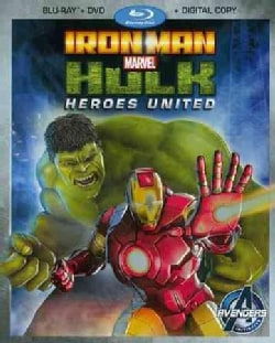Iron Man And Hulk: Heroes United (Blu-ray/DVD)