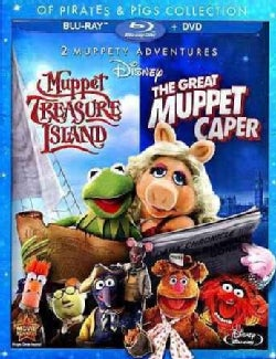 The Great Muppet Caper/Muppet Treasure Island Of Pirates & Pigs (Blu-ray/DVD)