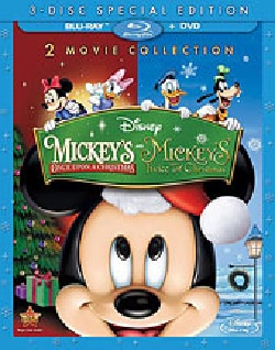 Mickey's Once Upon A Christmas/Mickey Twice Upon Christmas (Blu-ray Disc)