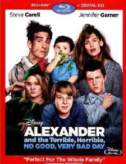 Alexander And The Terrible, Horrible, No Good, Very Bad Day (Blu-ray Disc)