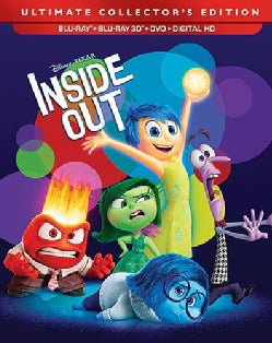 Inside Out 3D (Blu-ray/DVD)