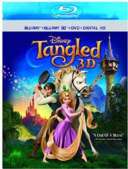 Tangled 3D (Blu-ray/DVD)