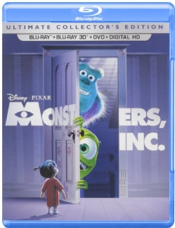 Monsters Inc. 3D (Blu-ray/DVD)