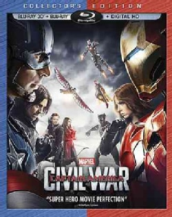 Marvel's Captain America: Civil War 3D (Blu-ray Disc)