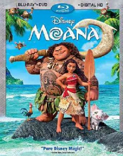 Moana (Blu-ray/DVD)