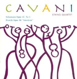Cavani String Qt. - Schumann Opus 41 No 1 Dvorak Opus 46