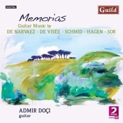 Admir Doci - Memorias: Guitar Music with Admir Doci