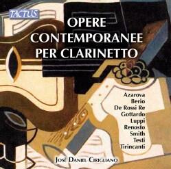Jose Daniel Cirigliano - Contemporary Clarinet Works