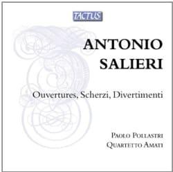 Antonio Salieri - Salieri: Ouvertures/Scherzi/Divertimenti