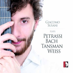 Giacomo Susani - Giacomo Susani Plays Petrassi, J.S. Bach, Tansman & Weiss