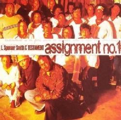 L. Spenser Smithand Testament - Assignment No 1