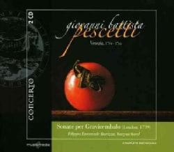 Giovanni Battista Pescetti - Pescetti: Sonate Per Gravicembalo (London 1739)
